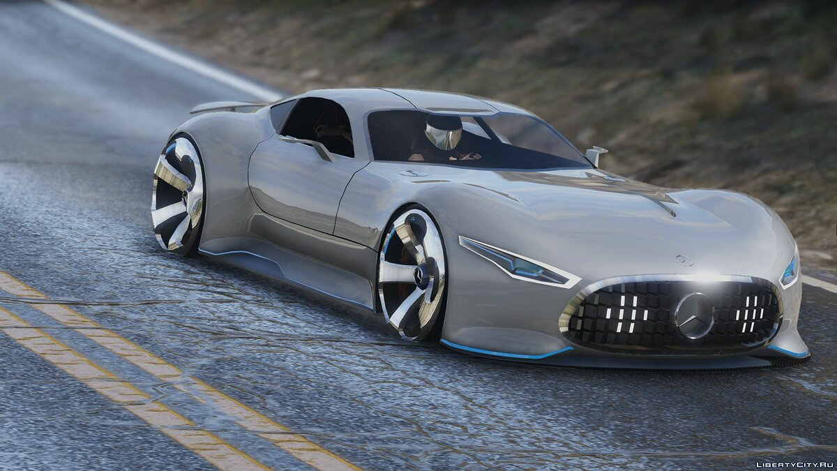 Mercedes-Benz AMG Vision GT [Add-On] 1.0 для GTA 5