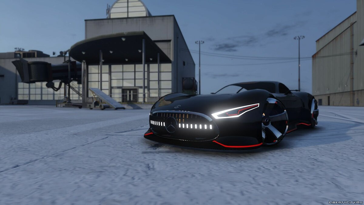 Mercedes-Benz AMG Vision GT [Add-On] 1.0 для GTA 5 - скриншот #5
