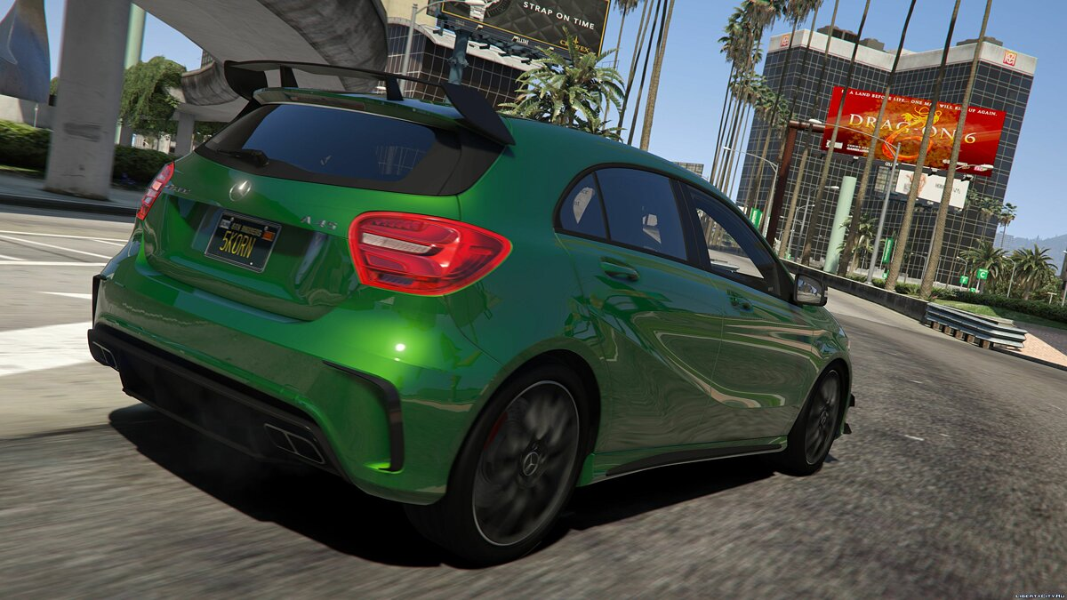 2017 Mercedes-AMG A45 W176 [Add-On / Replace | Template] v1.5 для GTA 5 - скриншот #2
