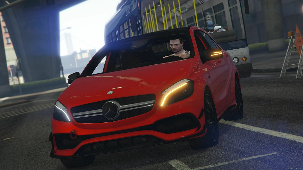 2017 Mercedes-AMG A45 W176 [Add-On / Replace | Template] v1.5 для GTA 5 - скриншот #3