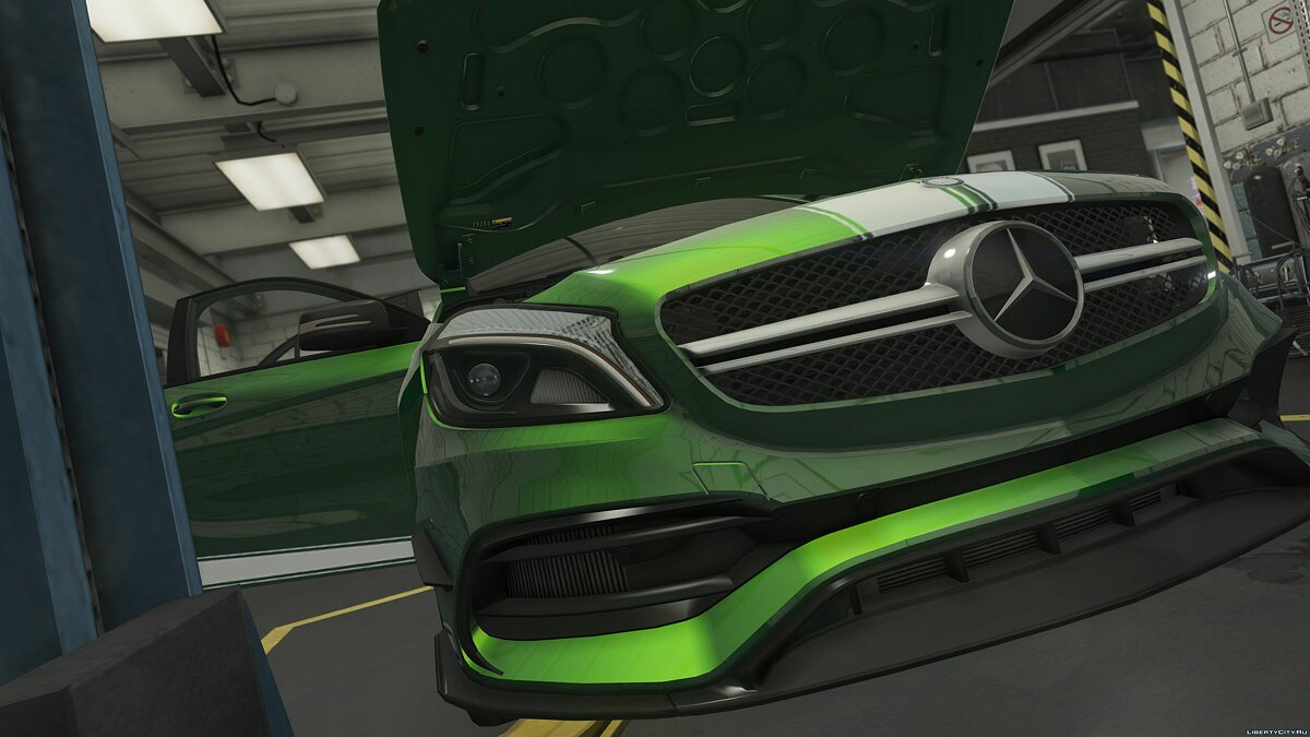 2017 Mercedes-AMG A45 W176 [Add-On / Replace | Template] v1.5 для GTA 5 - скриншот #9