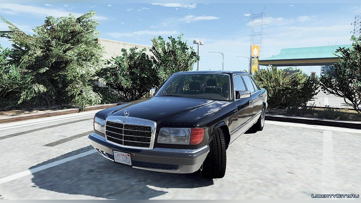 1990 Mercedes-Benz 560sel w126 [Add-On / Replace | Animated] 1.0 для GTA 5