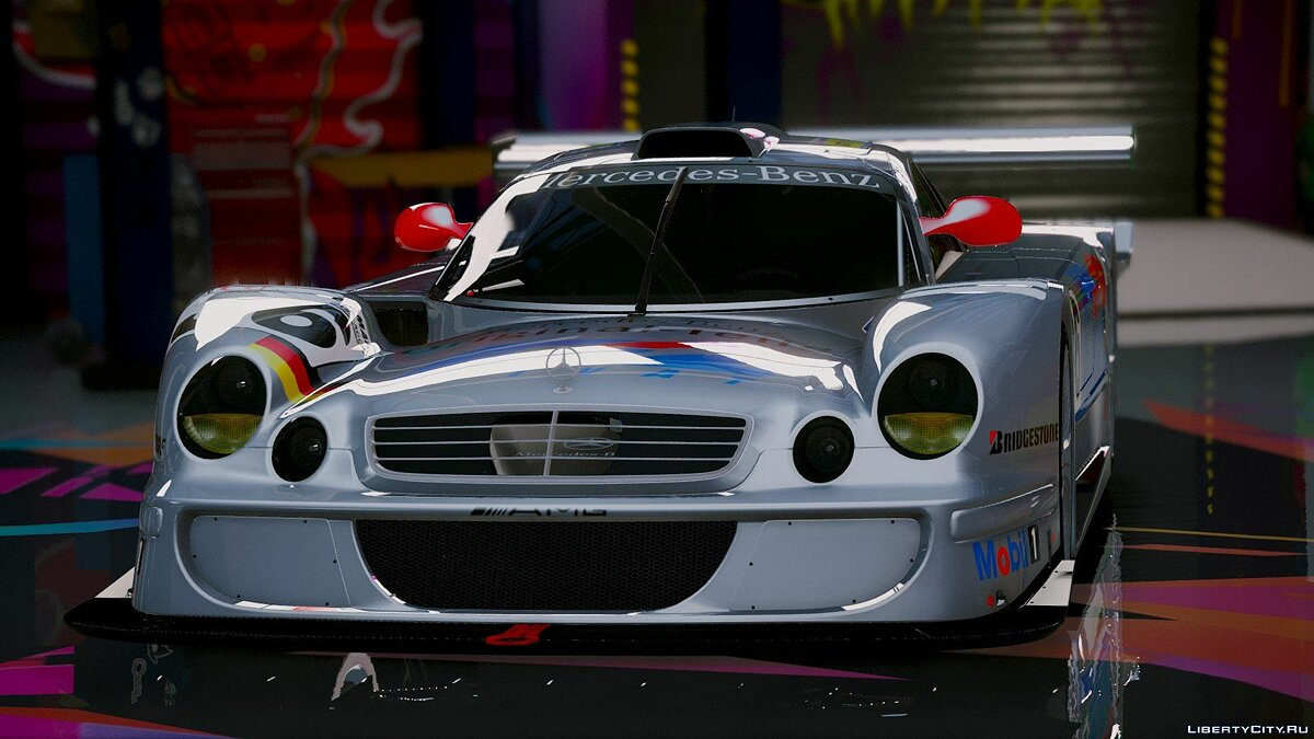 Mercedes-Benz CLK-LM AMG [Add-On] 1.2 для GTA 5