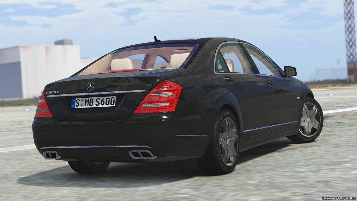 2010 Mercedes-Benz S600 L [Add-On | Tuning] 1.0 для GTA 5