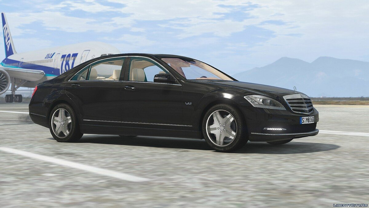 2010 Mercedes-Benz S600 L [Add-On | Tuning] 1.0 для GTA 5 - скриншот #2