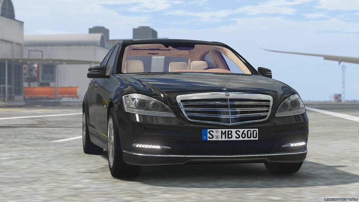 2010 Mercedes-Benz S600 L [Add-On | Tuning] 1.0 для GTA 5 - скриншот #6