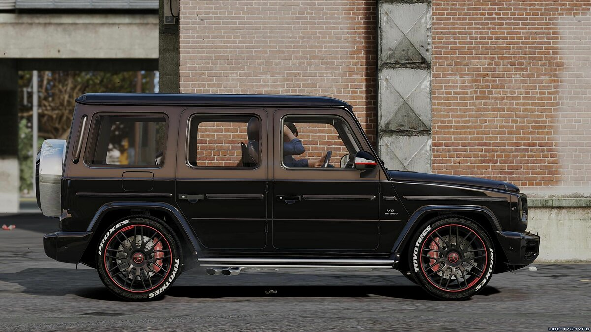 Машина Mercedes-Benz 2019 G63 ///AMG (Add-on) 1.0 для GTA 5