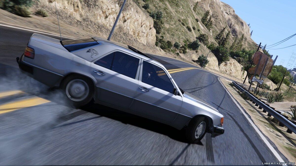 Машина Mercedes-Benz Mercedes-Benz W124 300D '1992 [Add-On/Replace/Animated/Extras] для GTA 5