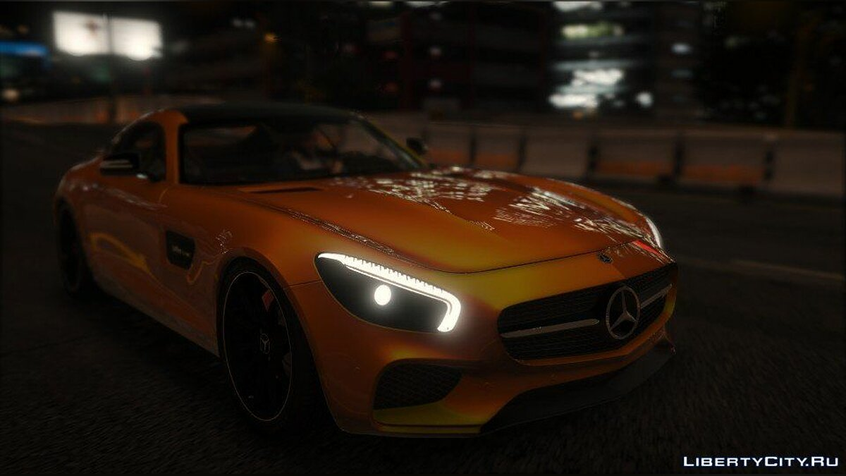 Mercedes-AMG GT S 2016 [Add-On / Replace / Auto Spoiler] 1.1 для GTA 5 - скриншот #7