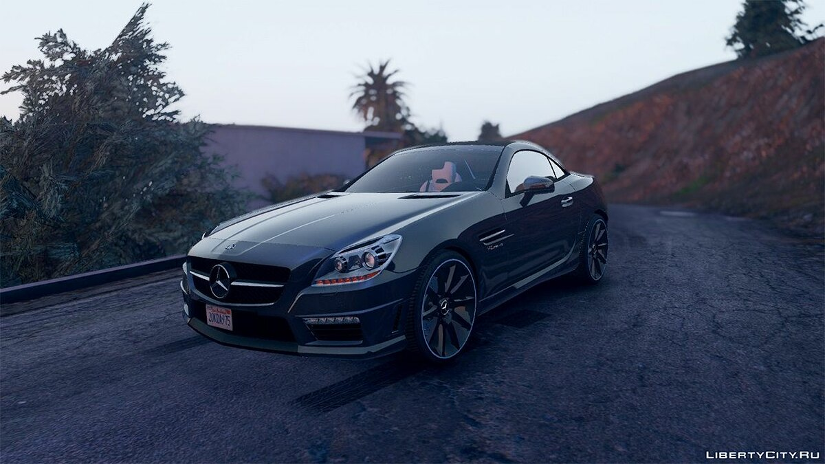 Mercedes-Benz SLK55 AMG [Add-On / Replace] 1.3 для GTA 5