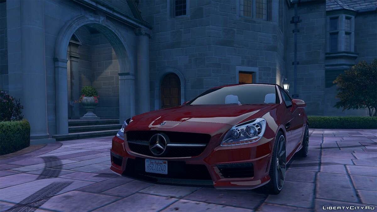Mercedes-Benz SLK55 AMG [Add-On / Replace] 1.3 для GTA 5 - скриншот #2