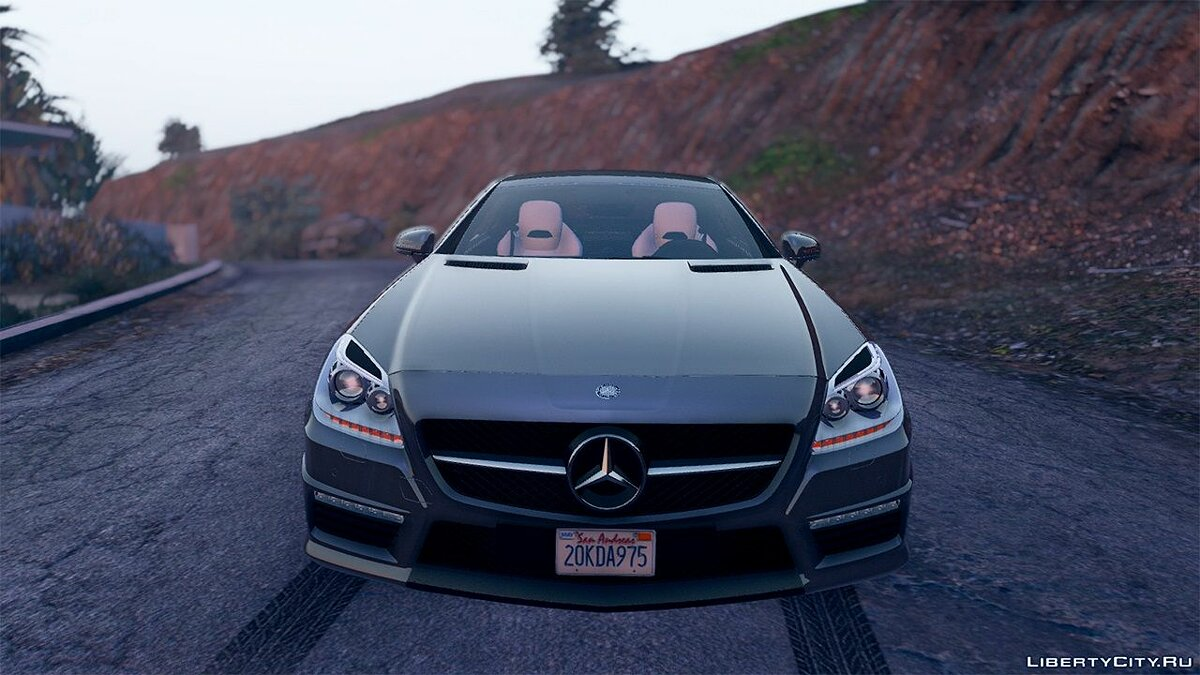 Mercedes-Benz SLK55 AMG [Add-On / Replace] 1.3 для GTA 5 - скриншот #4