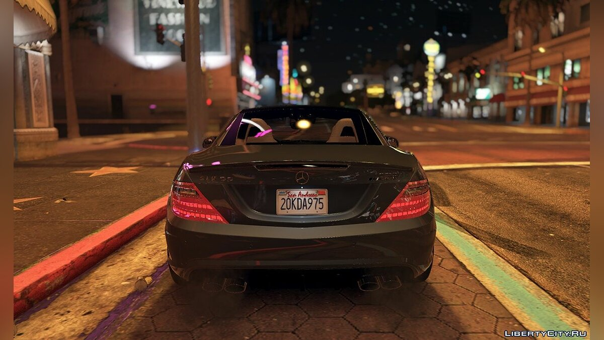 Mercedes-Benz SLK55 AMG [Add-On / Replace] 1.3 для GTA 5 - скриншот #11