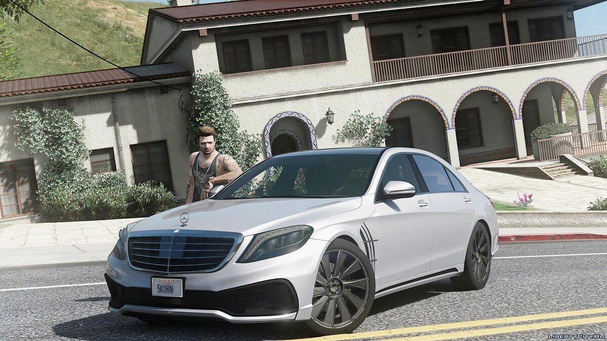 Mercedes S-Class W222 WALD Black Bison [Add-On / Replace] 1.0a для GTA 5 - скриншот #5