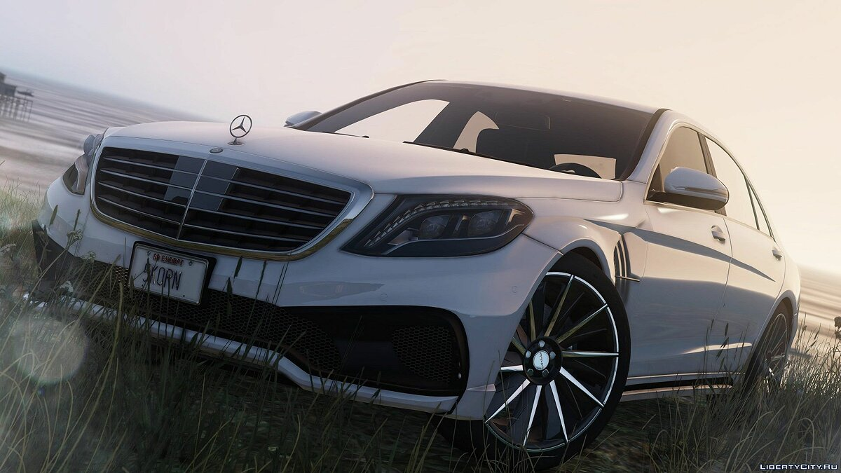 Mercedes S-Class W222 WALD Black Bison [Add-On / Replace] 1.0a для GTA 5 - скриншот #6
