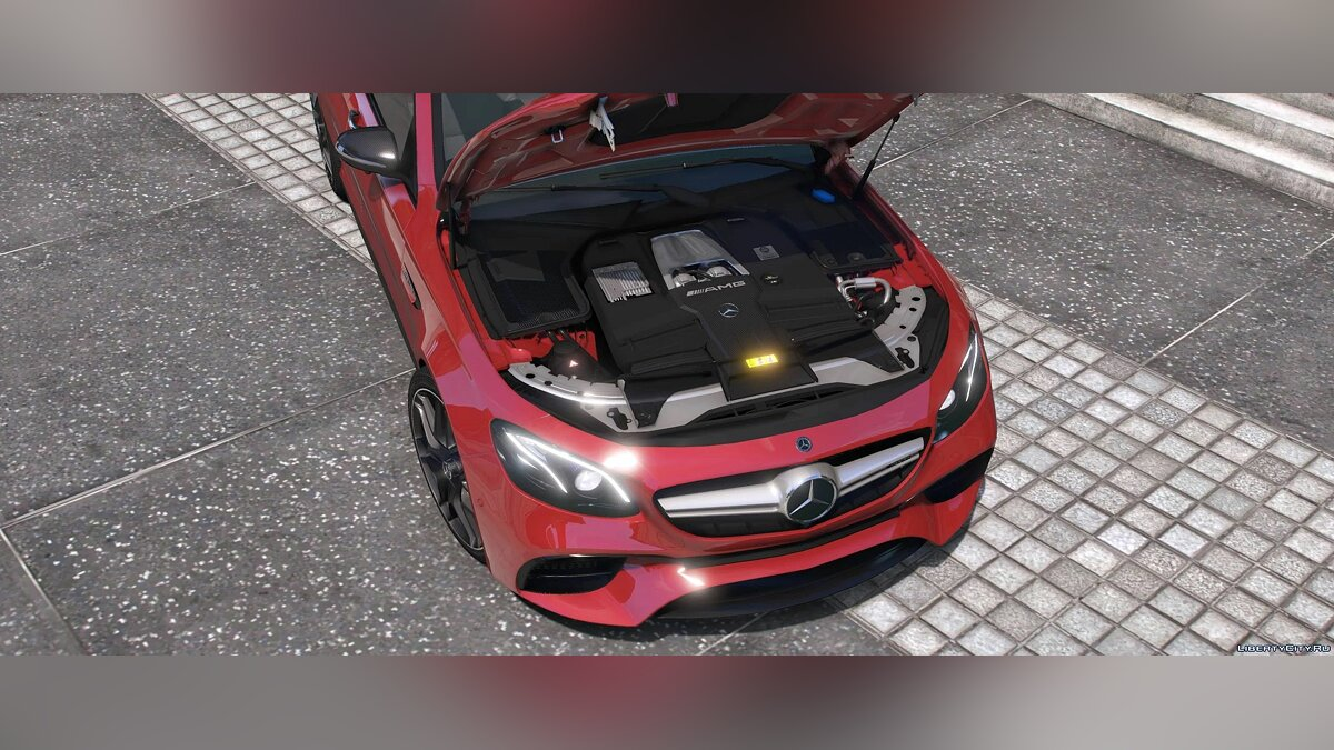 Машина Mercedes-Benz 2018 Mercedes-AMG E63 S 4matic+ (W213) [Add-On] 1.0 для GTA 5