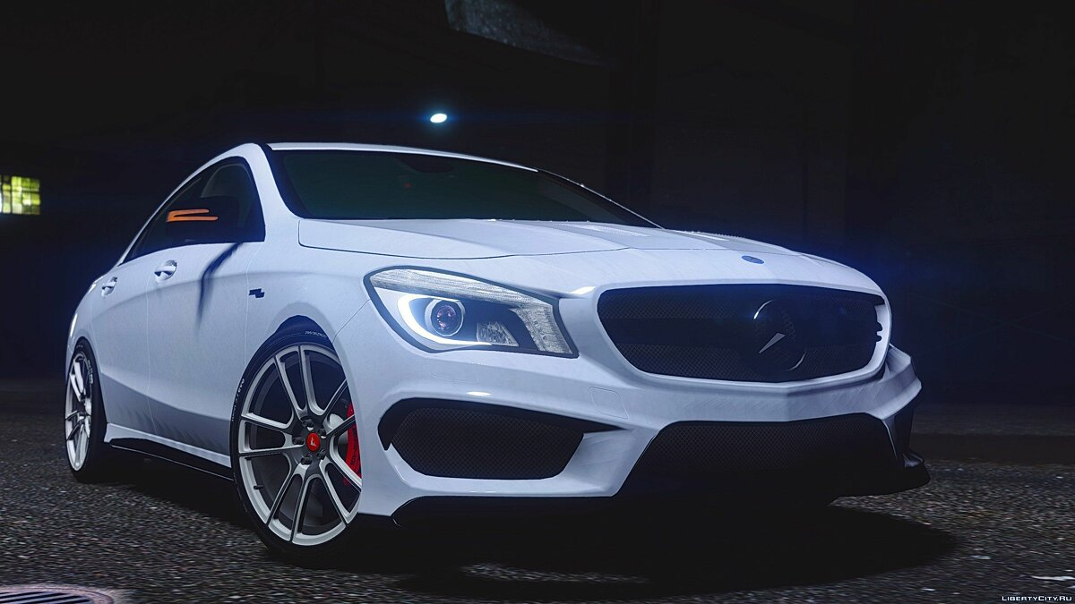 Mercedes-Benz CLA45 AMG Black [DTD Edition] 1.0 для GTA 5 - скриншот #2