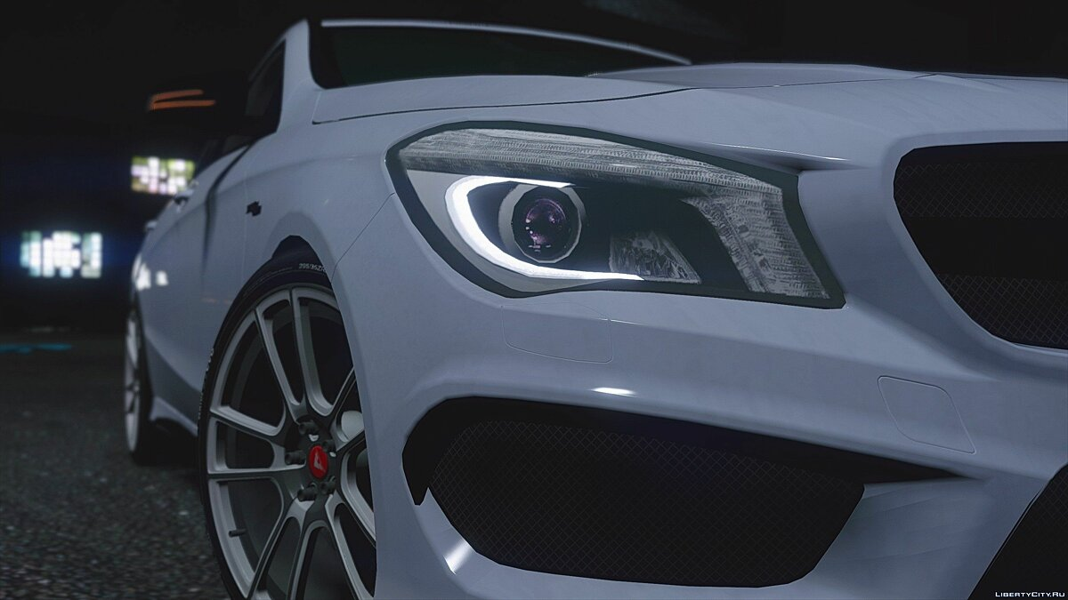 Mercedes-Benz CLA45 AMG Black [DTD Edition] 1.0 для GTA 5 - скриншот #4
