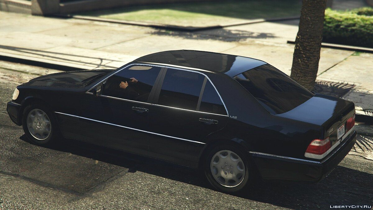 Mercedes-Benz S600 (W140) [Add-On/Replace] v1.0 для GTA 5 - скриншот #3