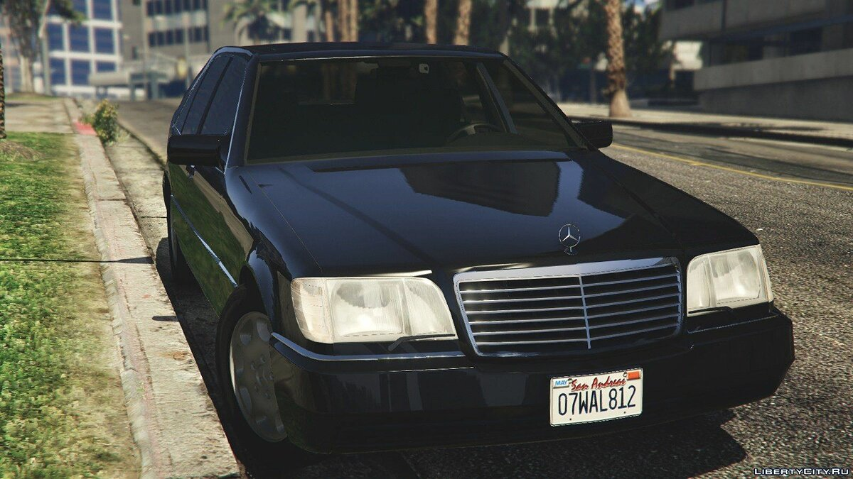 Mercedes-Benz S600 (W140) [Add-On/Replace] v1.0 для GTA 5 - скриншот #5