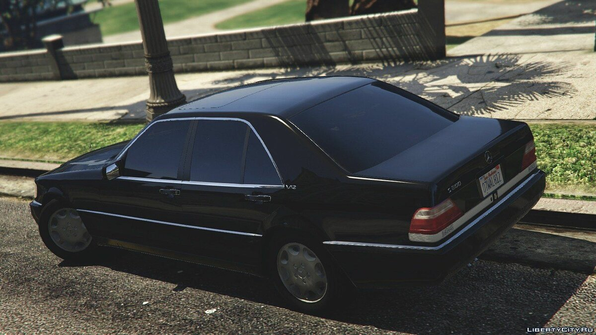 Mercedes-Benz S600 (W140) [Add-On/Replace] v1.0 для GTA 5 - скриншот #9