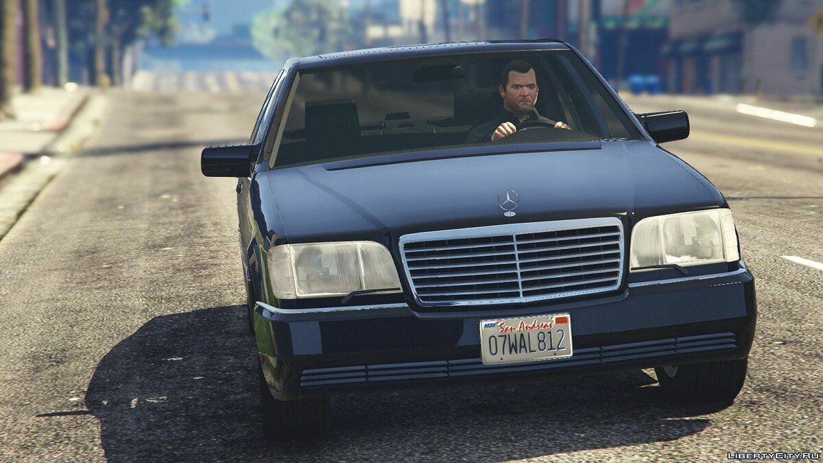 Mercedes-Benz S600 (W140) [Add-On/Replace] v1.0 для GTA 5 - скриншот #8