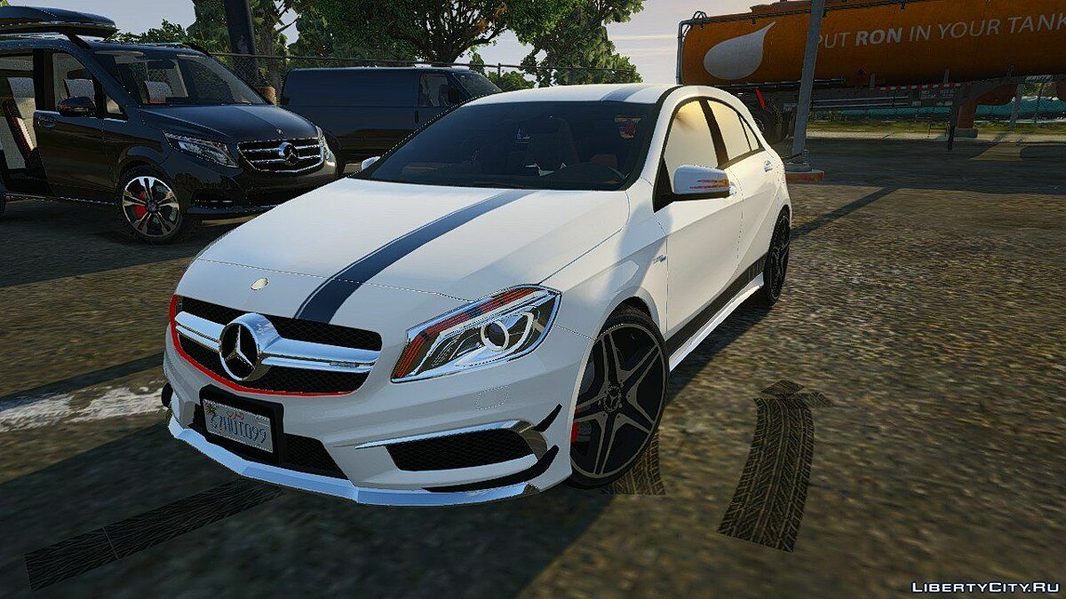 2012 Mercedes-Benz A45 ///AMG Templated [Add-On] 4.0 для GTA 5