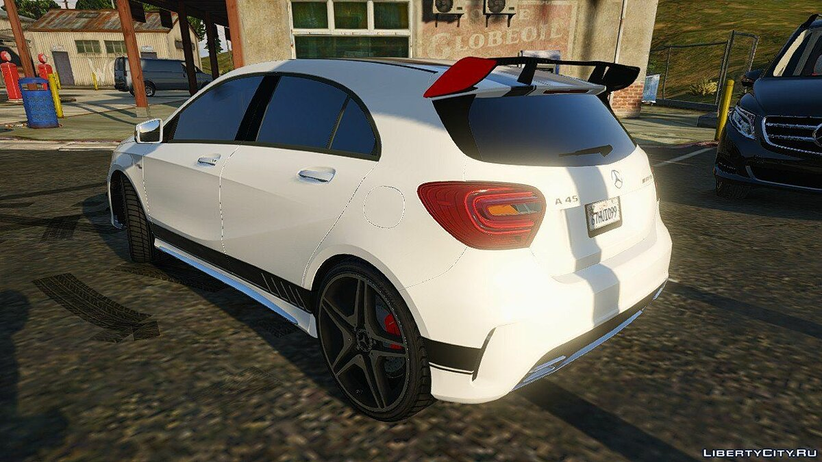 2012 Mercedes-Benz A45 ///AMG Templated [Add-On] 4.0 для GTA 5 - скриншот #2