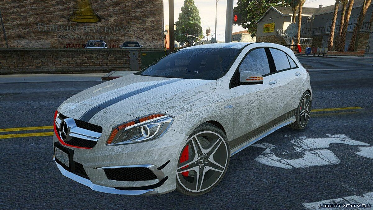 2012 Mercedes-Benz A45 ///AMG Templated [Add-On] 4.0 для GTA 5 - скриншот #6
