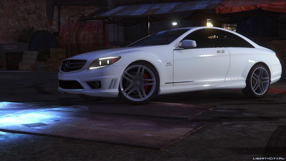 2010 Mercedes-Benz CL65 AMG [Add-On / Replace | Tuning] 1.0 для GTA 5 - Картинка #3