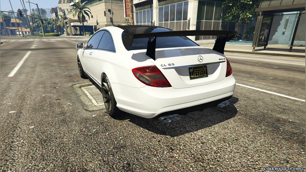 2010 Mercedes-Benz CL65 AMG [Add-On / Replace | Tuning] 1.0 для GTA 5 - Картинка #7