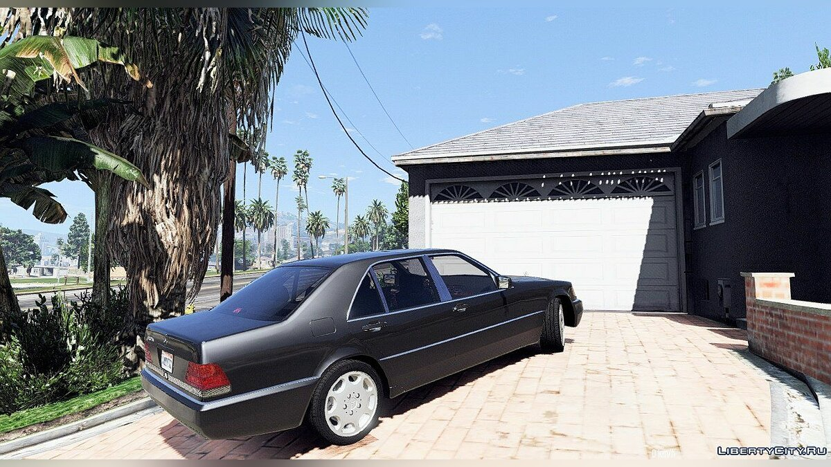 Mercedes-Benz 600 SEL W140 [Add-On / Replace] 2.0 для GTA 5 - скриншот #2