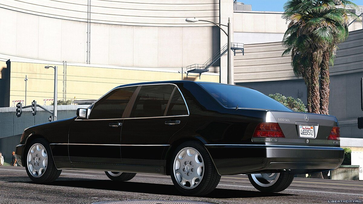 Mercedes-Benz 600 SEL W140 [Add-On / Replace] 2.0 для GTA 5 - скриншот #3