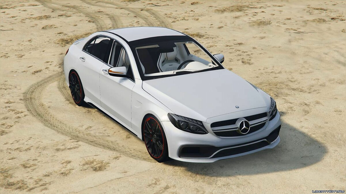2016 Mercedes-Benz C63 AMG [HQ | Replace] 1.0 для GTA 5