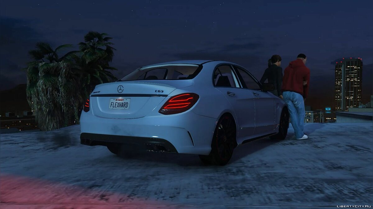 2016 Mercedes-Benz C63 AMG [HQ | Replace] 1.0 для GTA 5 - скриншот #11