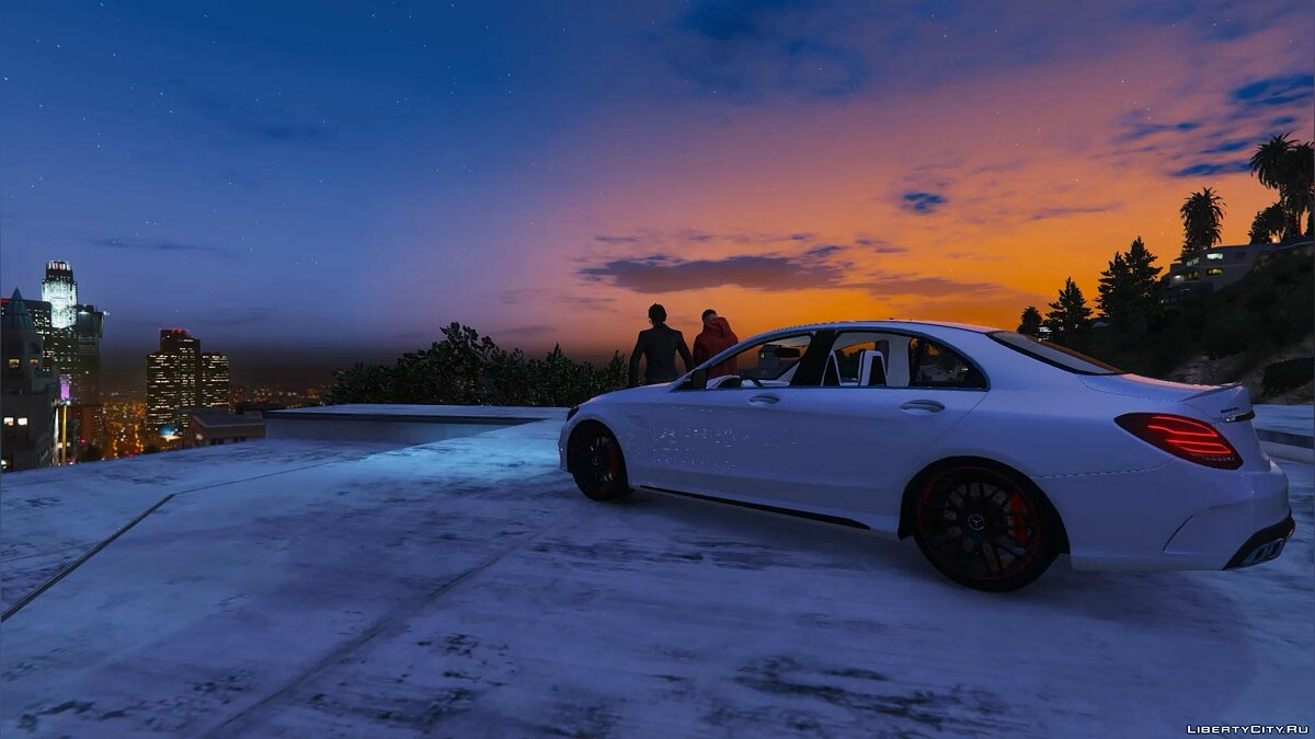 2016 Mercedes-Benz C63 AMG [HQ | Replace] 1.0 для GTA 5 - скриншот #14