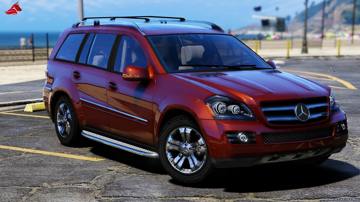 Mercedes-Benz GL450 [Add-On / Replace | Tuning | HQ] 1.1 для GTA 5 - скриншот #2