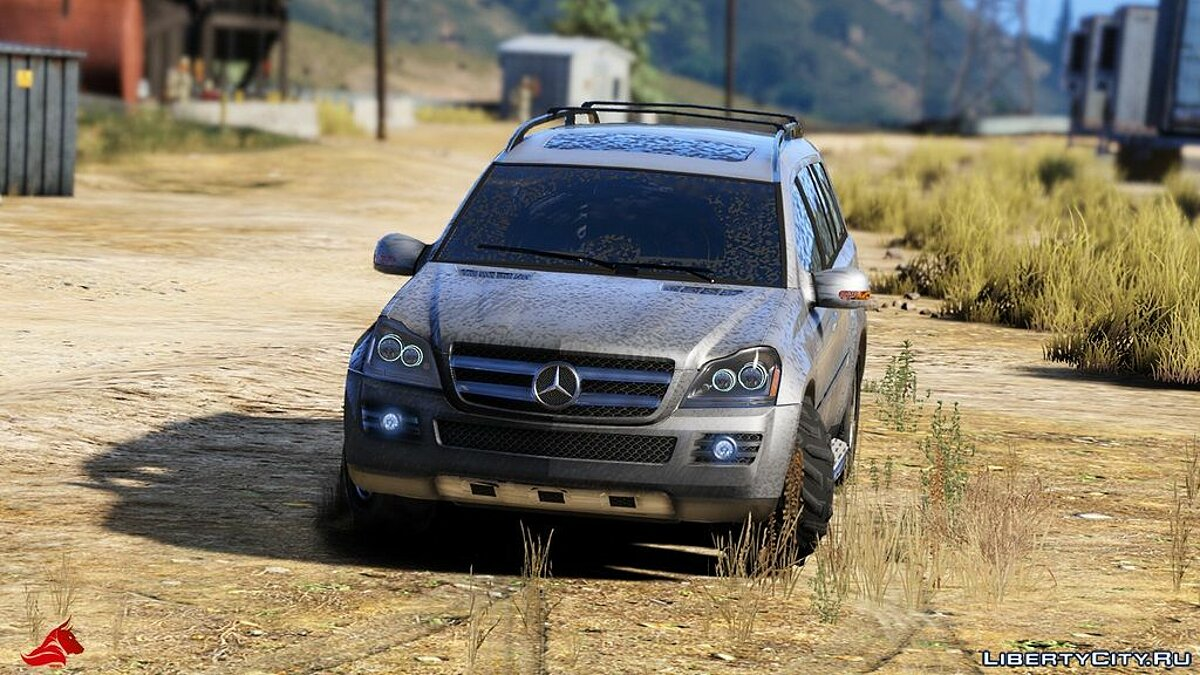 Mercedes-Benz GL450 [Add-On / Replace | Tuning | HQ] 1.1 для GTA 5 - скриншот #7