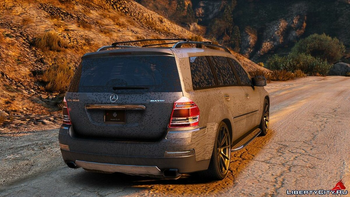 Mercedes-Benz GL450 [Add-On / Replace | Tuning | HQ] 1.1 для GTA 5 - скриншот #8