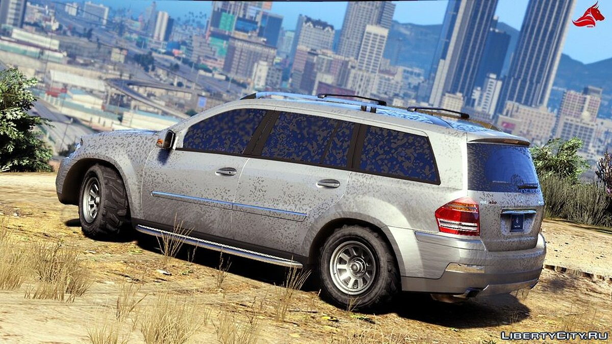 Mercedes-Benz GL450 [Add-On / Replace | Tuning | HQ] 1.1 для GTA 5 - скриншот #9