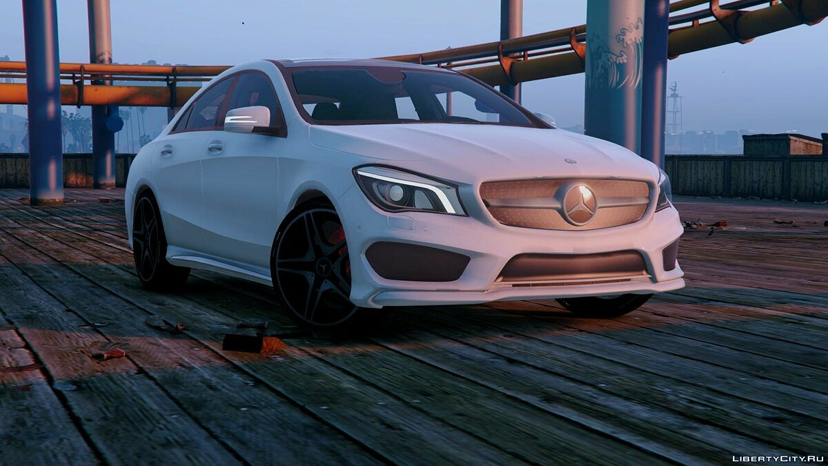 Mercedes-Benz CLA 250 v2.0 для GTA 5