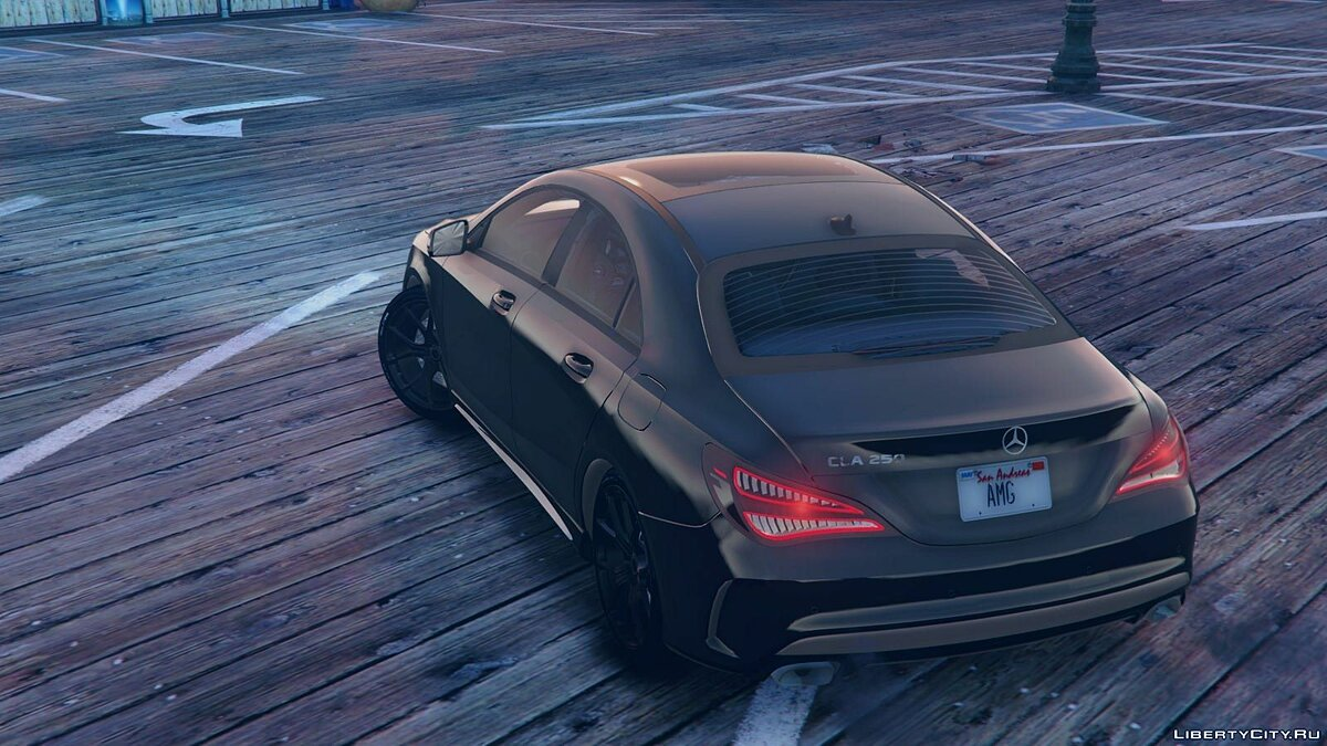 Mercedes-Benz CLA 250 v2.0 для GTA 5 - скриншот #3