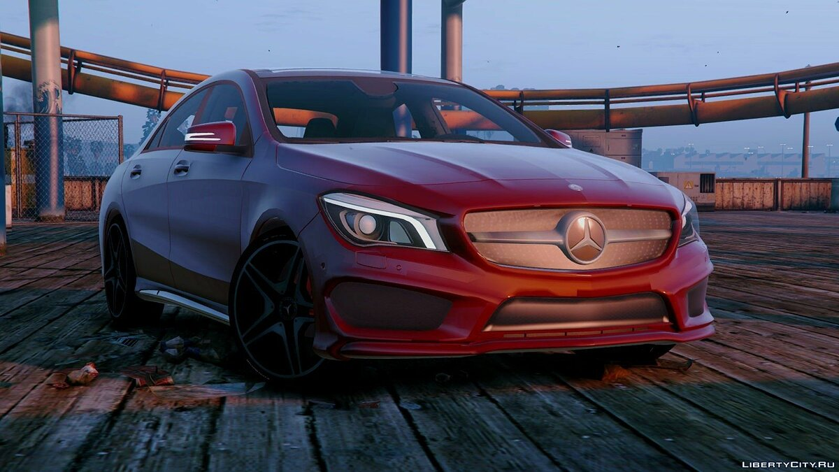 Mercedes-Benz CLA 250 v2.0 для GTA 5 - скриншот #4
