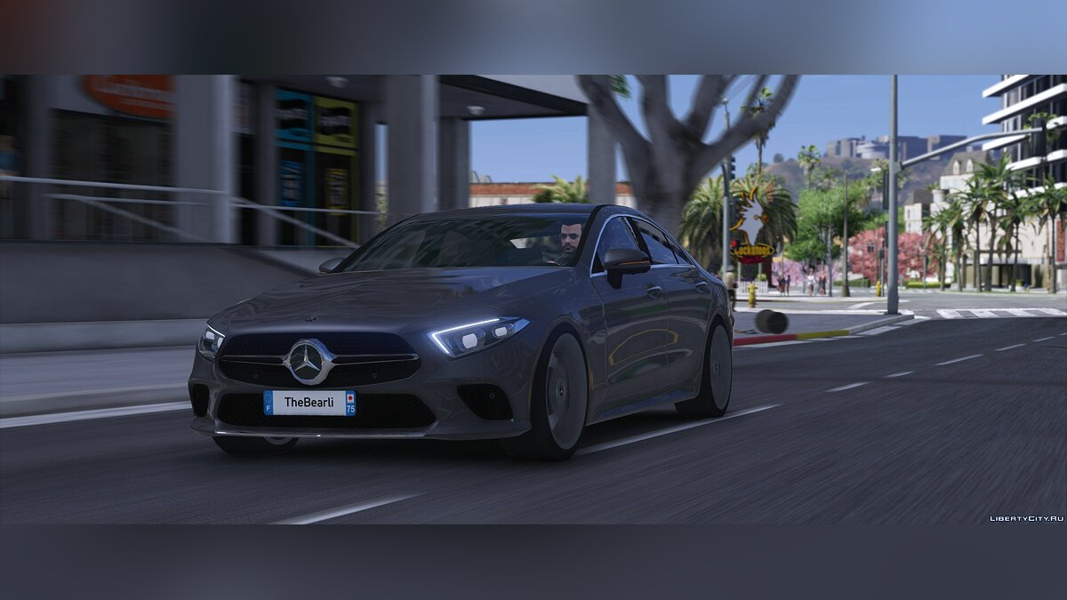 Машина Mercedes-Benz Mercedes-Benz Cls 2019 [Replace] 1.2 для GTA 5