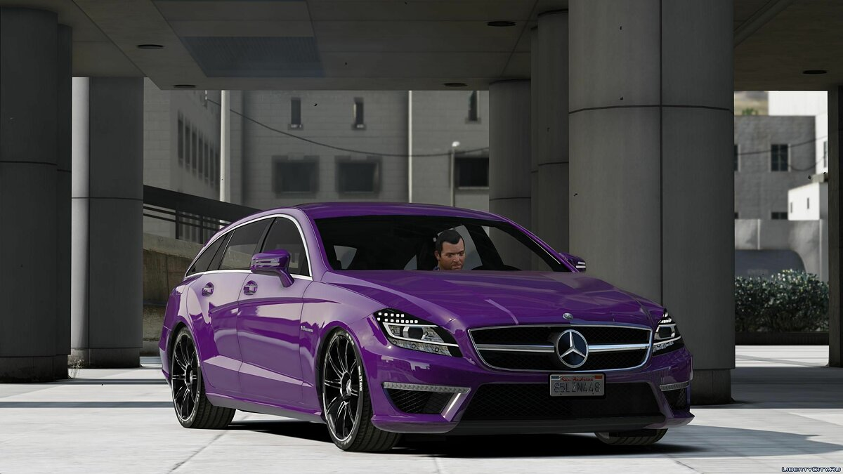 Машина Mercedes-Benz CLS63 ///AMG Shooting (Add-on) 1.0 для GTA 5