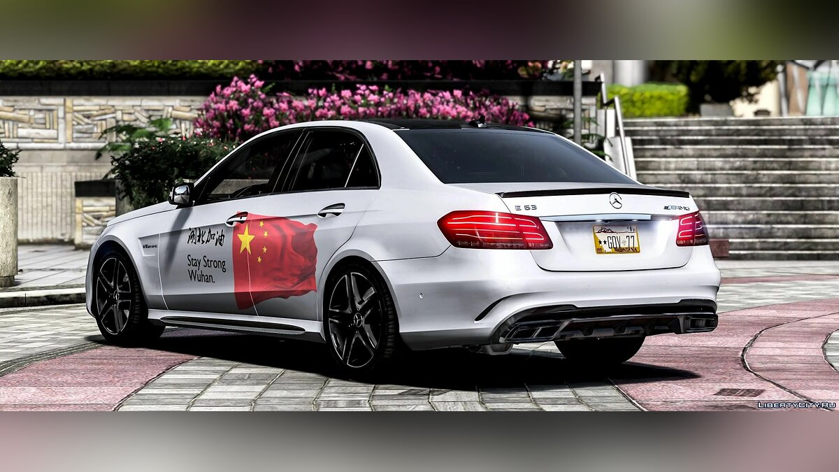 Машина Mercedes-Benz Mercedes Benz E63 2014 [Add-On] 1.0 для GTA 5