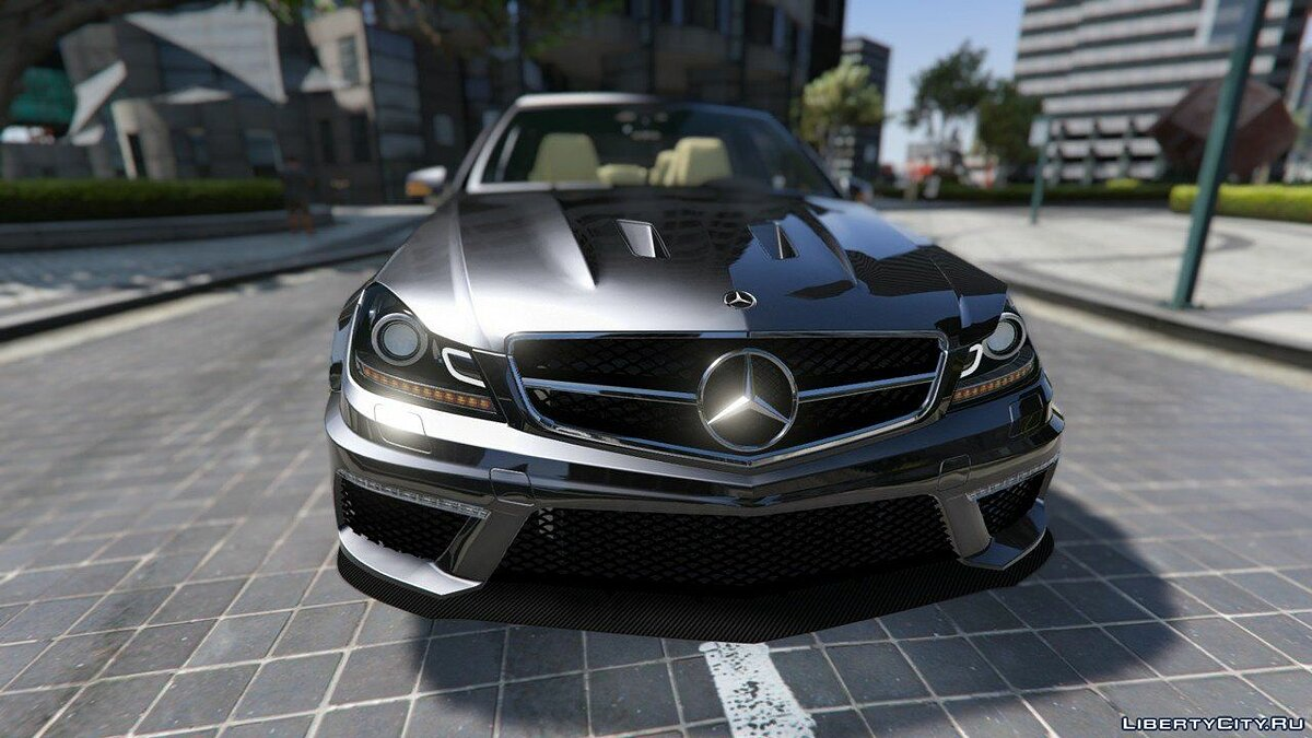 Mercedes-Benz C63 ///AMG 2013 [Add-On] 2.0 для GTA 5 - скриншот #3