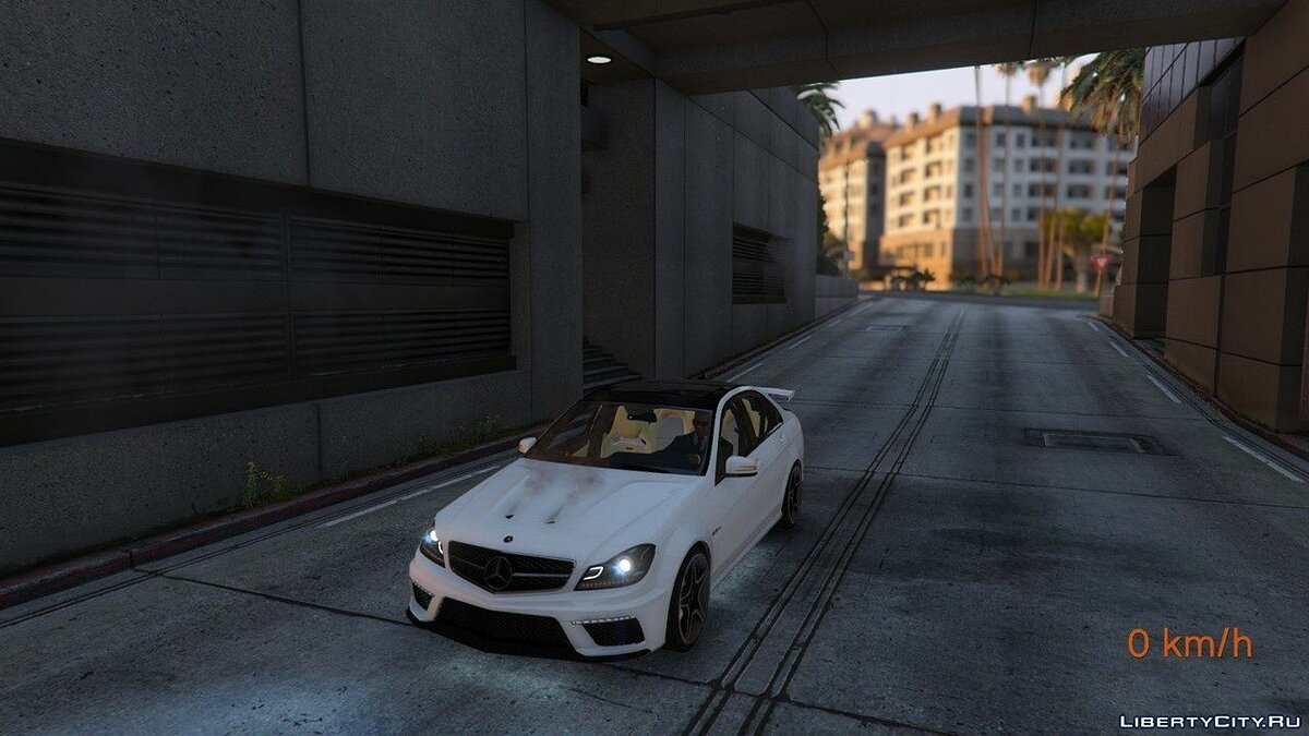 Mercedes-Benz C63 ///AMG 2013 [Add-On] 2.0 для GTA 5