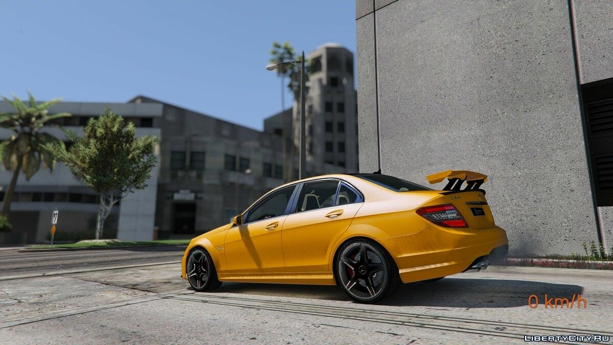 Mercedes-Benz C63 ///AMG 2013 [Add-On] 2.0 для GTA 5 - скриншот #7