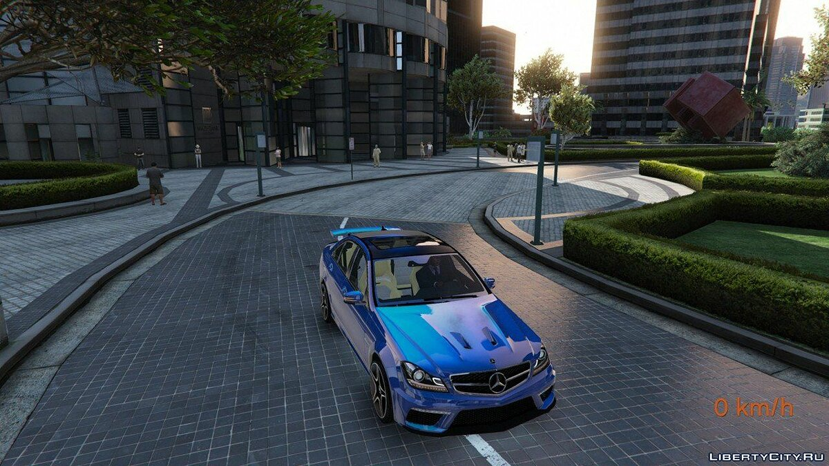 Mercedes-Benz C63 ///AMG 2013 [Add-On] 2.0 для GTA 5 - скриншот #8
